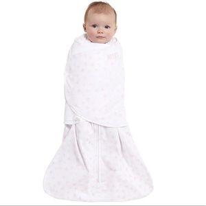 HALO Sleepsack Pink Dot Swaddle Sleep Blanket NB